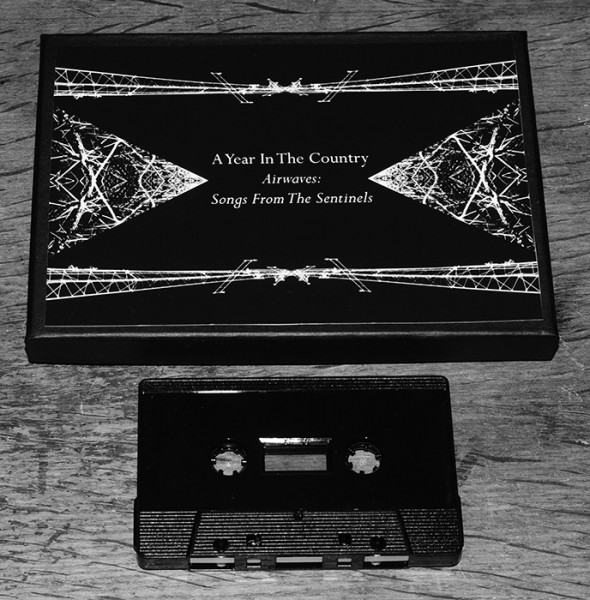 Airwaves-Songs From The Sirens-Midnight Archaic Encasements Edition-front of box and tape-A Year In The Country-artifact components
