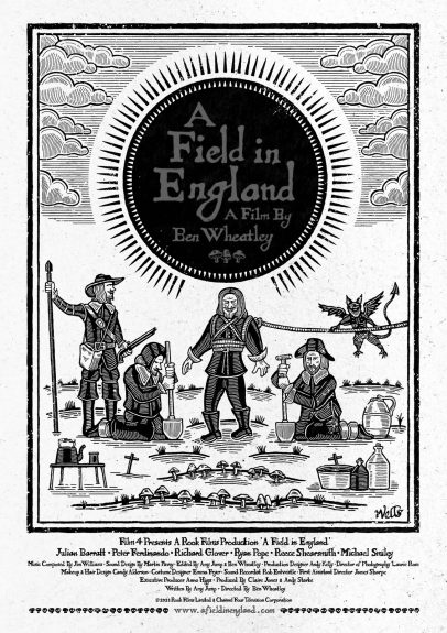 A-FIELD-IN-ENGLAND-POSTER-Richard Wells-A Year In The Country