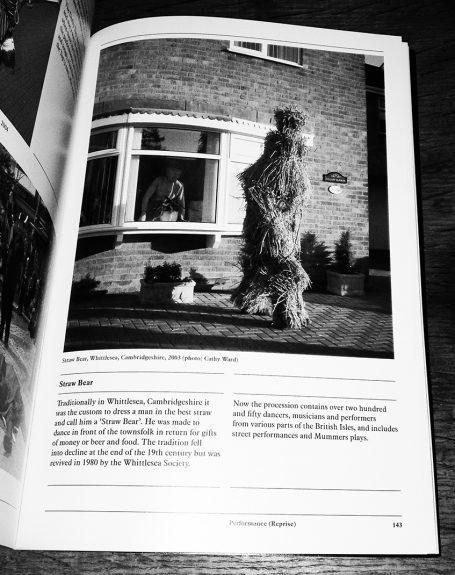 Folk Archive-Jeremy Deller-Alan Kane-A Year In The Country 5-Straw Bear Dancer