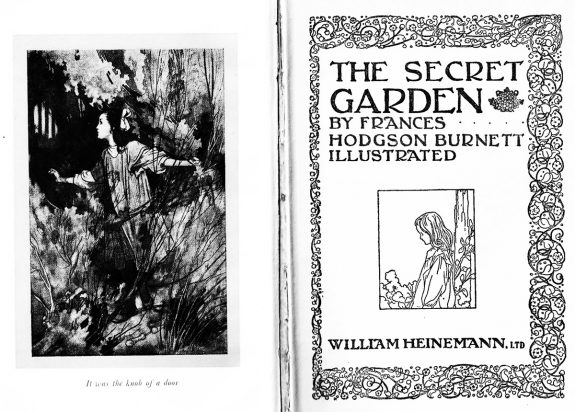 The Secret Garden-Frances Hodgson-Burnett-book-A Year In The Country