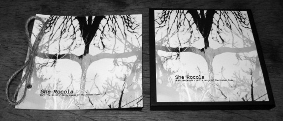 She Rocola-Burn The Witch-Molly Leigh Of The Mother Town-Night and Day Editions side by side-A Year In The Country