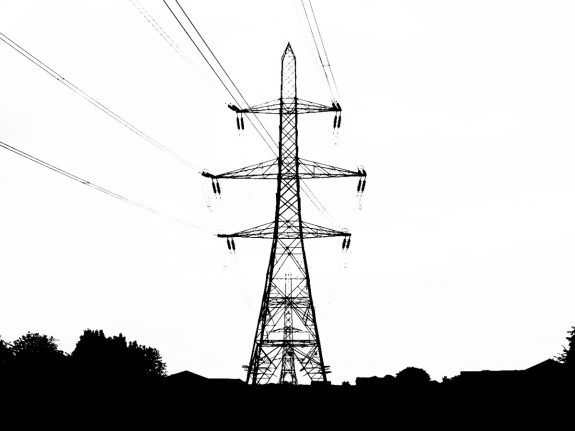 Telegraph Poles and Electric Pylons-A Year In The Country-6