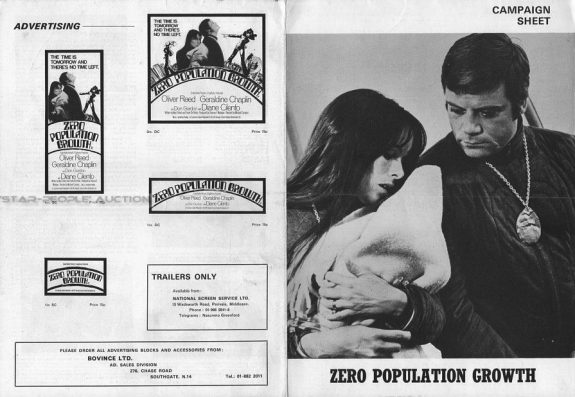 Z.P.G.-1972-Oliver Reed-Geraldine Chaplin-Diane Cilento-A Year In The Country-12
