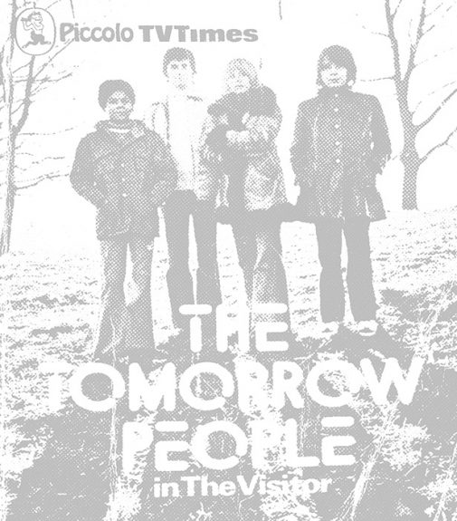 The Tomorrow People in The Visitor-paperback book-novel-1973-Piccolo TV Times-Roger Price and Julian Gregory-5