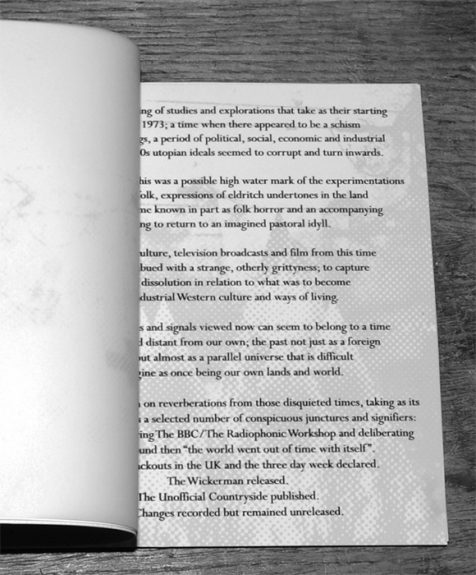 Fractures-Night Edition-booklet 1-A Year In The Country