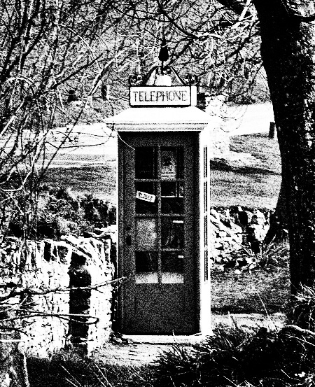 Hampshire-Cam-Tyneham-village-telephone-box-The-Quietened-Village-A-Year-In-The-Country-3