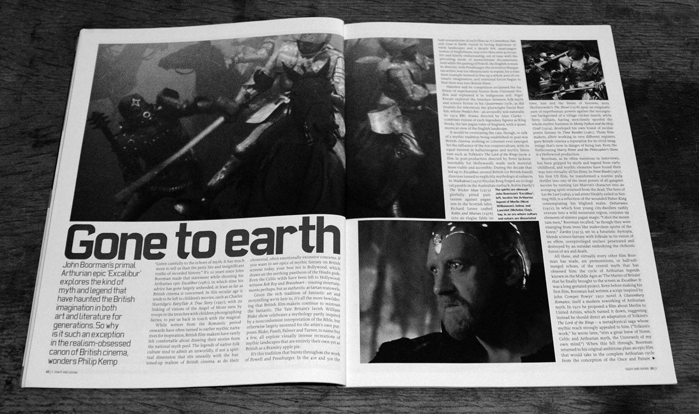 Gone To Earth-Philip Kemp-John Boorman-BFI-Sight & Sound-January 2001-A Year In The Country