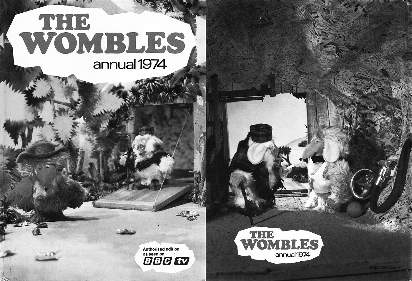 The-Wombles-Annual-1974-A Year In The Country