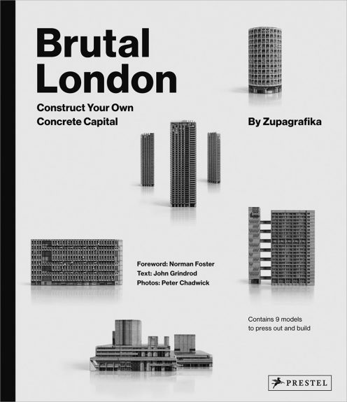 Brutal London-Construct Your Own Concrete Capital book-Prestel