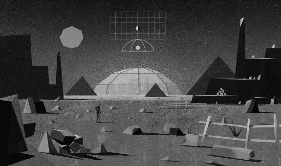 Matthew Lyons-illustration-dome and grid