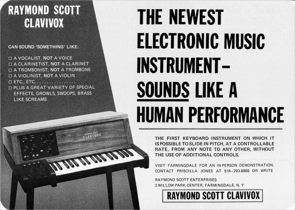 Raymond Scott-Clavivox advert