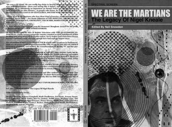 We Are The Martians-The Legacy Of Nigel Kneale-Spectral Screen edition