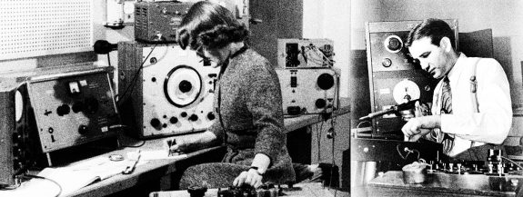 Daphne Oram and Raymond Scott
