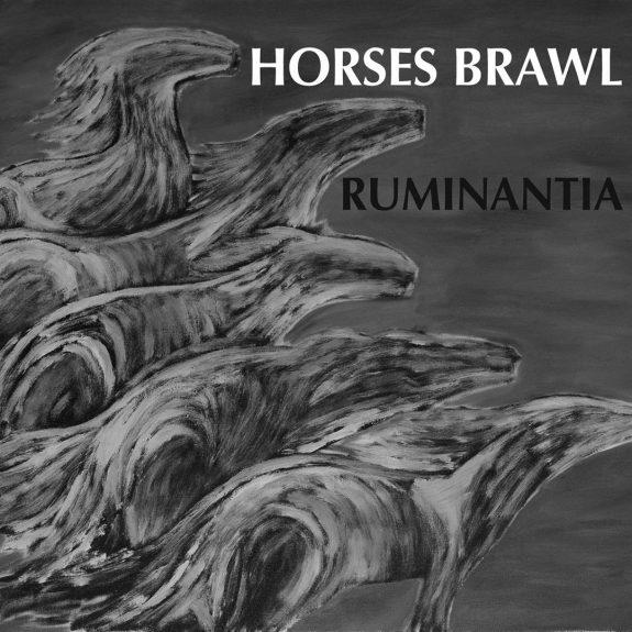 Horses Brawl-Ruminata-CD cover