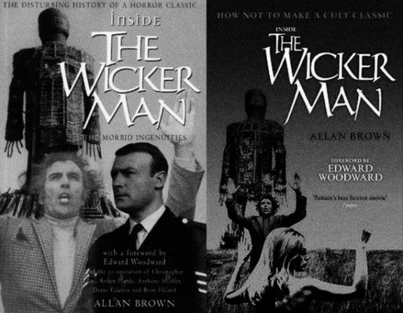 Inside The Wicker Man-Allan Brown-1st edition and revised edition