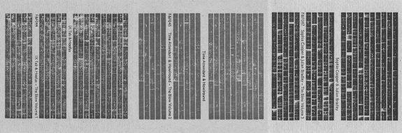 The Blow cassettes-Front & Follow-IX Tab-Hoofus-Time Attendant-Howlround-Sophie Cooper-Julian Bradley