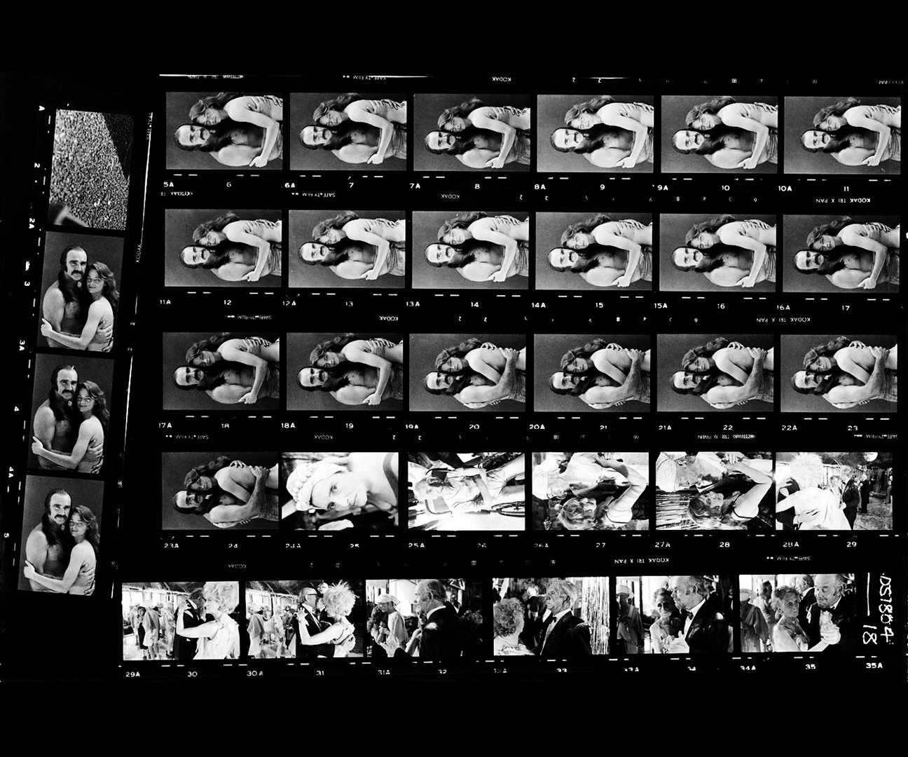 Zardoz-contact sheet-A Year In The Country