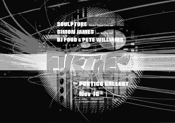 Further-Portico poster-DJ Food Pete Williams-c