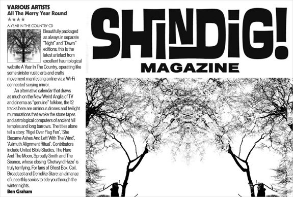 Shindig magazine-issue 74-All The Merry Year Round-A Year In The Country album review-Ben Graham-stroke 2