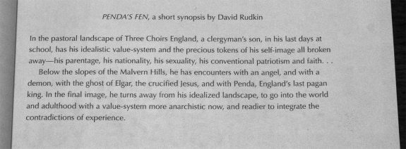 The Edge Is Where The Centre Is-synopsis-books-Texte und tone-Pendas Fen-David Rudkin-Mordant Music