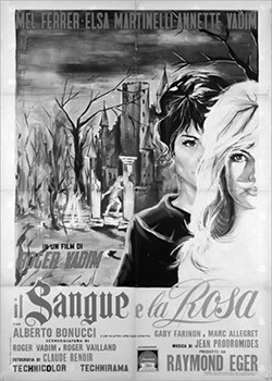 Et-Mourir-De-Plaisir-Blood-And-Roses-1960-Roger-Vadim-Il-Sangue-e-la-Rosa-poster-250