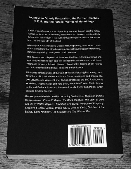 A Year In The Country-Wandering Through Spectral Fields-book-Stephen Prince-back cover