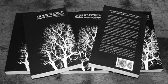 A-Year-In-The-Country-Wandering-Through-Spectral-Fields-book-Stephen-Prince-6 copies-front cover and back cover