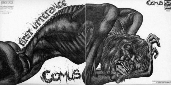 Comus-First Utterance-album cover art
