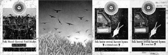 Folk Horror Revival-Field Studies-Harvest Hymns-book covers