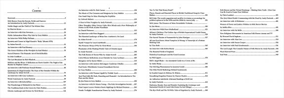 Folk Horror Revival-Field Studies-book contents
