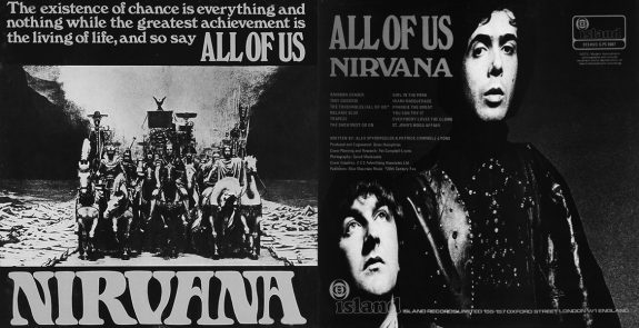 Nirvana-1968 album-All of Us-The Touchables film 1968