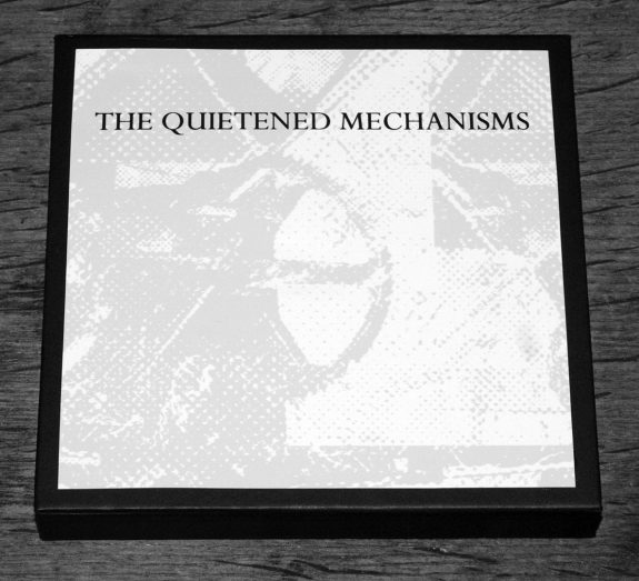 The Quietened Mechanisms-Nightfall edition-front cover-A Year In The Country CD album