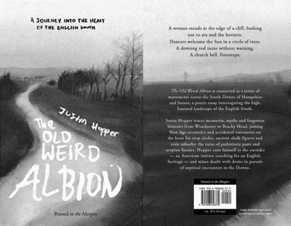 The Old Weird Albion-Justin Hopper-front and back book cover-Penned in the Margins