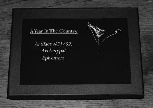 Artifact 51-Archetypal Ephemera box-A Year In The Country