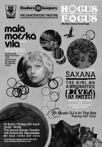 David Chatton Barker-Folklore Tapes-Mala Morska Vila-Czech New Wave Film-Saxana-Finders Keepers-Hocus Focus-A Year In The Country
