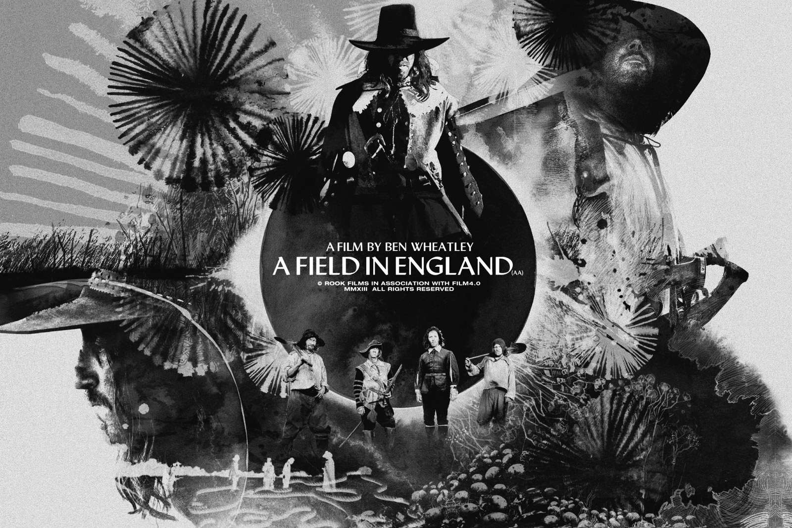 A Field In England-soundtrack poster-A Year In The Country - A ...
