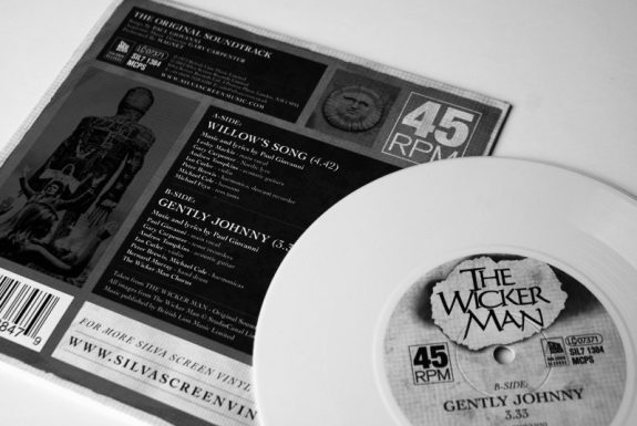 The Wickerman Willows Songs Gently Johnny 7 vinyl Record Store Day-Silva Screen International-A Year In The Country