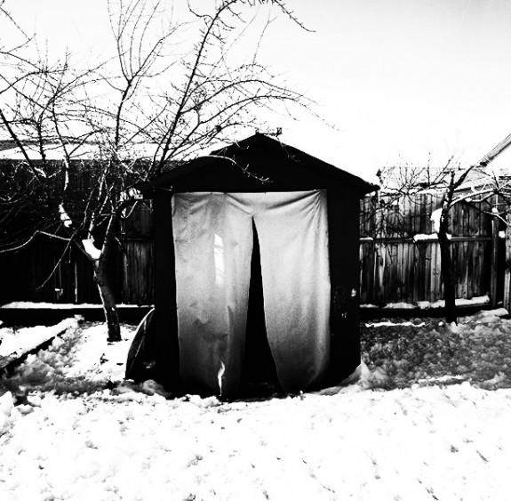 Backyard Entrance to Shelter, Salt Lake City, Utah