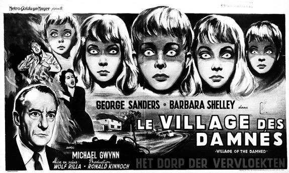The Village Of The Damned poster-French-A Year In The Country-Martin Stephens