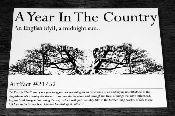 Artifact 21-in see through pack-A Year In The Country