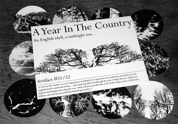 Artifact 21-stickers and front of insert-A Year In The Country