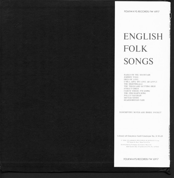 English Folk Songs-Audrey Copard-Folkways Records-Scarborough Fair-A Year In The Country 2 copy