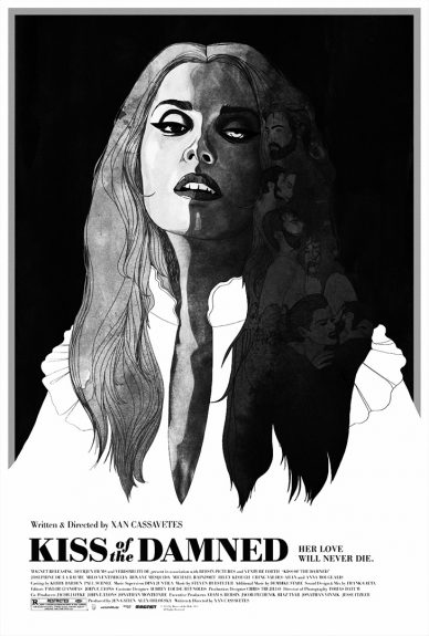 Kiss Of The Damned poster-Xan Casavetes-Jane Weaver-Demdike Stare-A Year In The Country