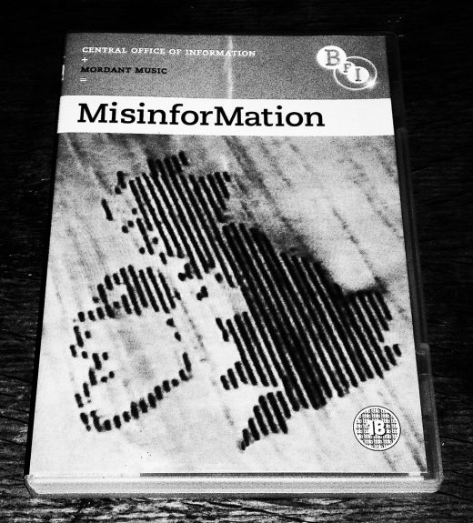 MisinforMation-Mordant Music-Central Office Of Information-BFI-DVD cover-A Year In The Country