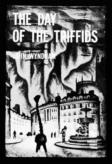John Wyndham-The Day Of The Triffids-book cover-A Year In The Country 4