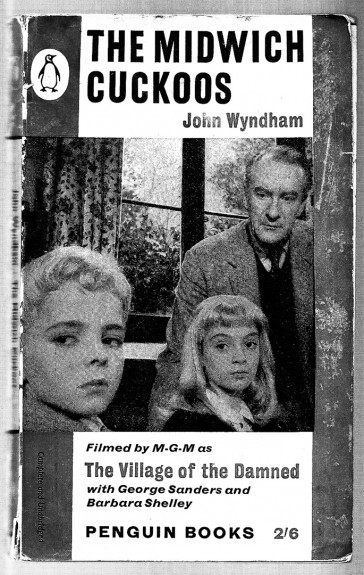 John Wyndham-The Midwich Cuckoos-book cover-A Year In The Country