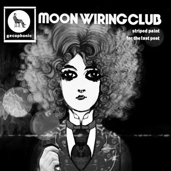 Moon Wiring Club-Striped Paint For The Last Post-A Year In The Country