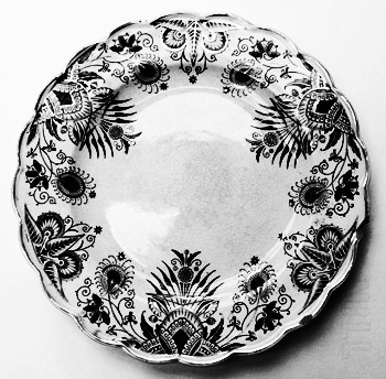 The Owl Service-dinner service-plate-Alan Garner-A Year In The Country