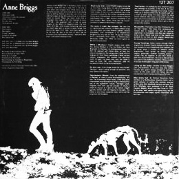 Anne Briggs-Topic Records-A Year In The Country