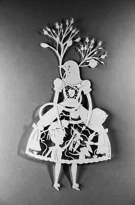 Elsa Mora-Paper Cutting-A Year In The Country 3